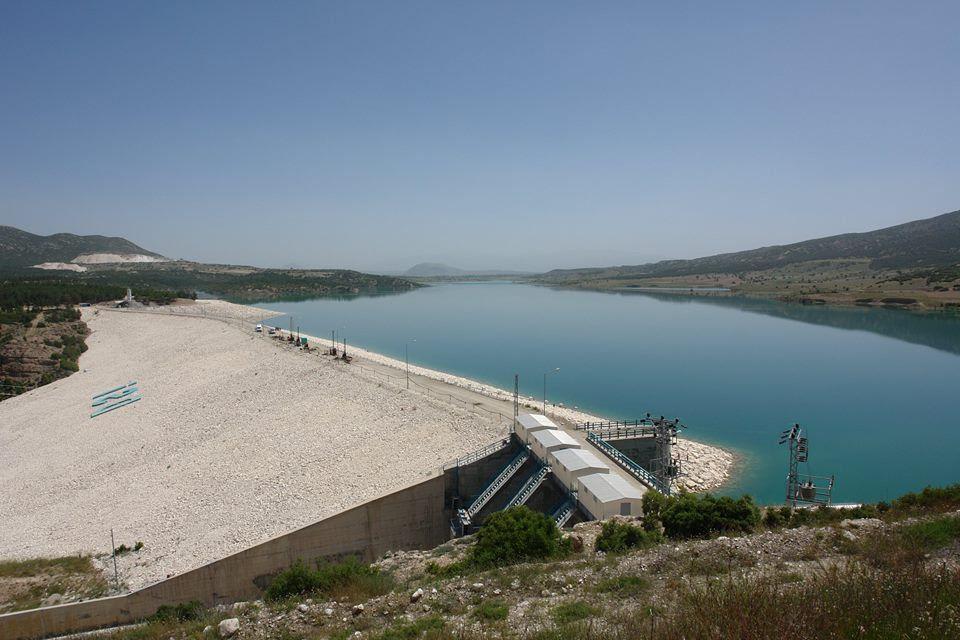 burdur karaçal barajı