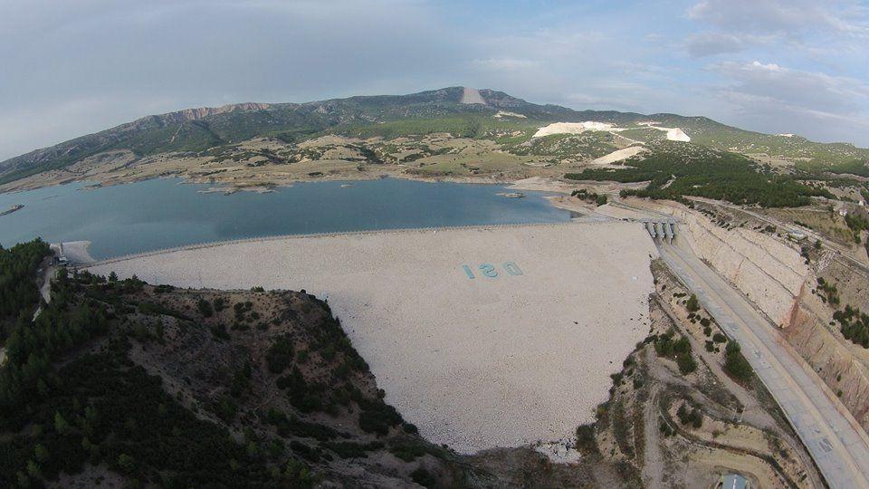 karaçal barajı yapımı